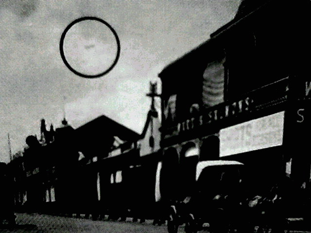 ufo in old 1910 photograph taken in germiston south africa