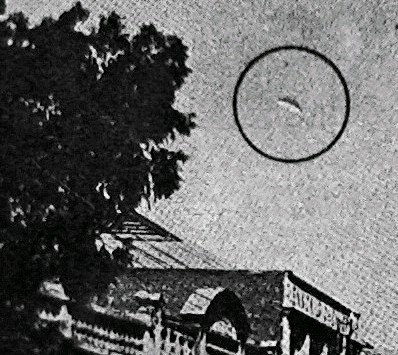 disc shaped UFO in 1916 germiston