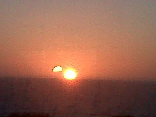 two suns seen in jeffreys bay