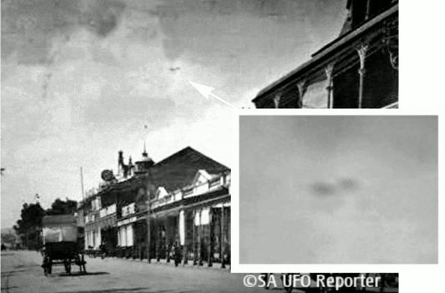 ufo in germiston in 1910