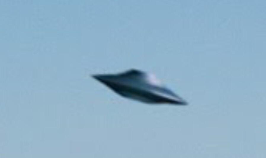 classic saucer-shaped ufo